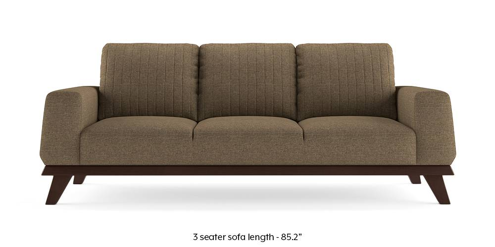 Granada Sofa (Dune Brown) (1-seater Custom Set - Sofas, 2-seater Custom Set - Sofas, None Standard Set - Sofas, None Standard Set - Sofas, Dune, Dune, Fabric Sofa Material, Fabric Sofa Material, Regular Sofa Size, Regular Sofa Size, Regular Sofa Type, Regular Sofa Type) by Urban Ladder - - 223385