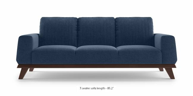 Granada Sofa (Lapis Blue) (1-seater Custom Set - Sofas, None Standard Set - Sofas, Fabric Sofa Material, Regular Sofa Size, Regular Sofa Type, Lapis Blue)