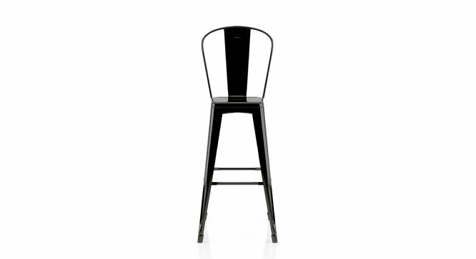 Getty Bar Chair - Set Of 4 (Black) by Urban Ladder