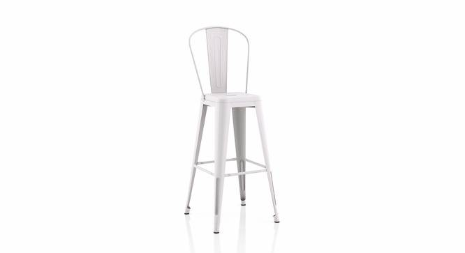 Getty Bar Chair - Set Of 4 (White) by Urban Ladder