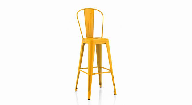 Getty Bar Chair - Set Of 4 (Yellow) by Urban Ladder