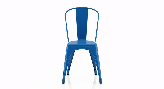 Colt Metal Chair - Set Of 4 (Blue) by Urban Ladder
