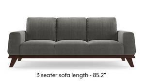 Granada Sofa (Ash Grey Velvet)