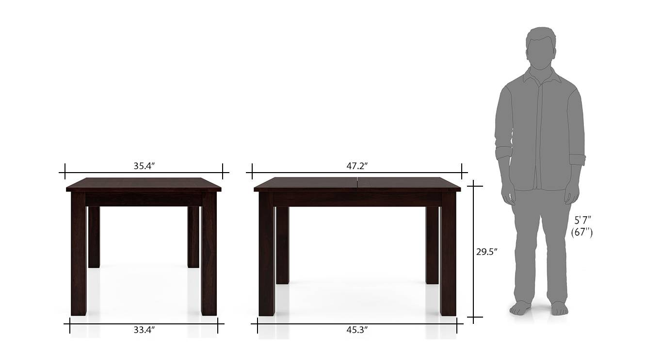 Arabia 4 to 6 extendable dining sets 9