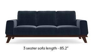 Granada Sofa (Sea Port Blue Velvet)