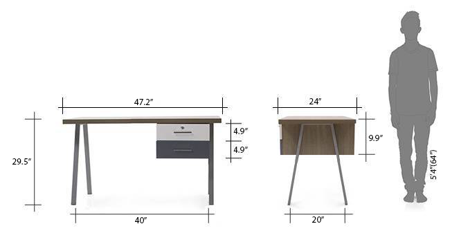 Twain study table new dim