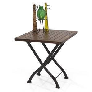 Masai Patio Table (Teak Finish) by Urban Ladder - - 2259
