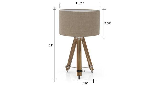 Kepler tripod table lamp natural linen drum shade 6 img 0110 dm