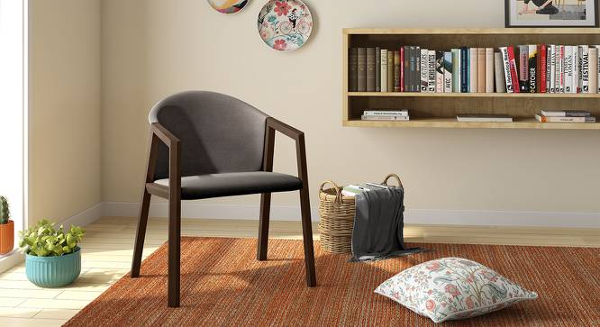 Dorothy Accent Chair (Grey) by Urban Ladder