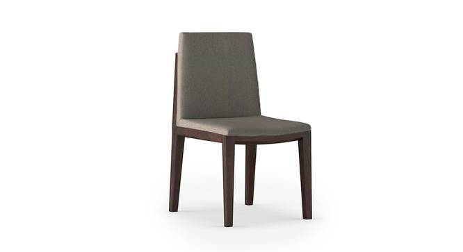 Galatea Dining Chair - Set Of 2 (Grey, American Walnut Finish) by Urban Ladder - Cross View Design 1 - 232167