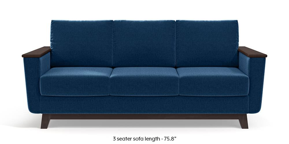 Corby Sofa (Cobalt Blue) by Urban Ladder