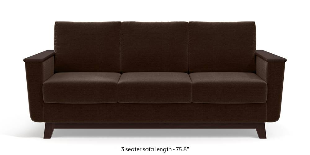 Corby Sofa (Dark Earth) by Urban Ladder
