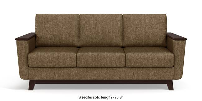 Corby Sofa (Dune Brown) (3-seater Custom Set - Sofas, None Standard Set - Sofas, Dune, Fabric Sofa Material, Regular Sofa Size, Regular Sofa Type)