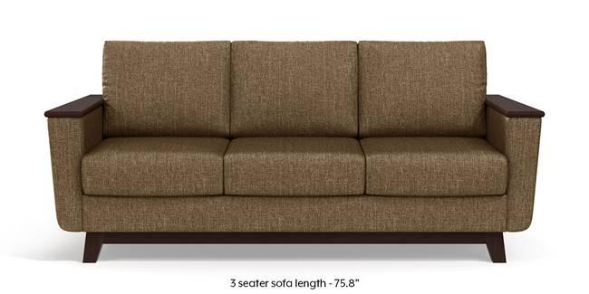 Corby Sofa (Dune Brown) (3-seater Custom Set - Sofas, None Standard Set - Sofas, Dune, Fabric Sofa Material, Regular Sofa Size, Regular Sofa Type)