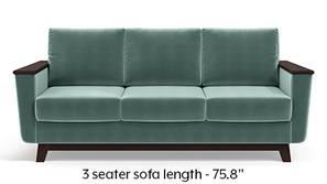 Corby Sofa (Dusty Turquoise Velvet)