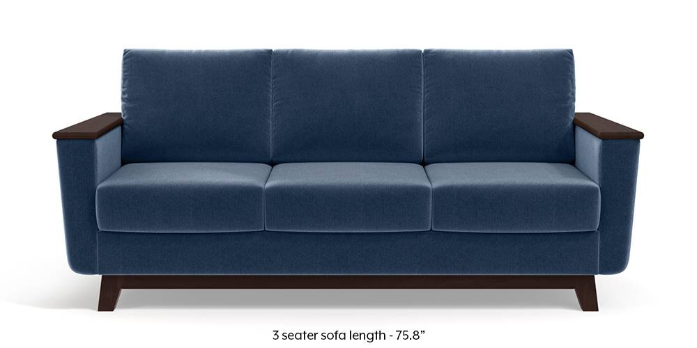 Corby Sofa (Lapis Blue) by Urban Ladder