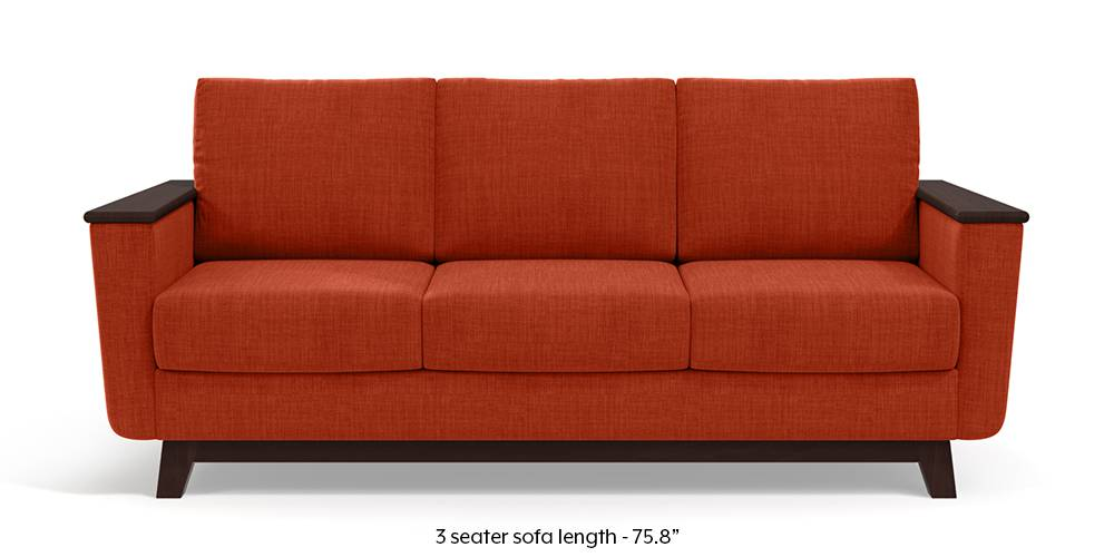 Corby Sofa (Lava Rust) by Urban Ladder
