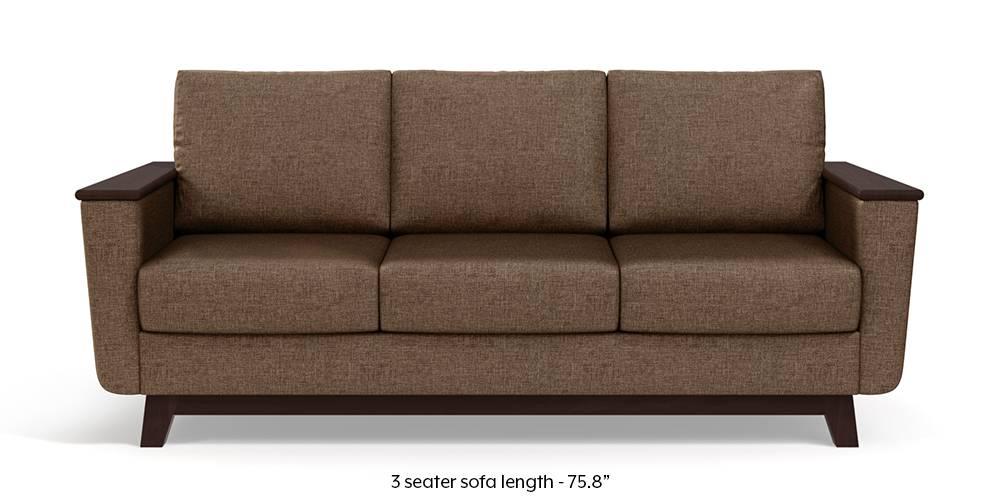 Corby Sofa (Mocha Brown) by Urban Ladder