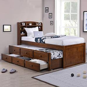 Ateneo storage headboard single bed lp