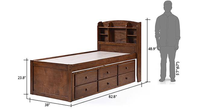 Ateneo storage headboard single bed 14