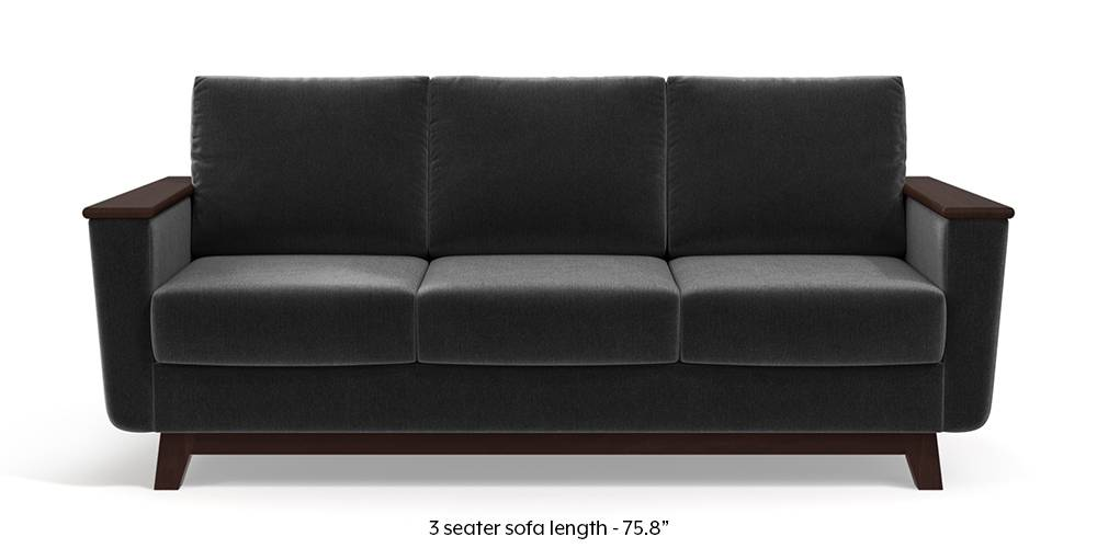 Corby Sofa (Pebble Grey) by Urban Ladder