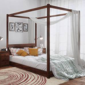 Striado four poster bed lp