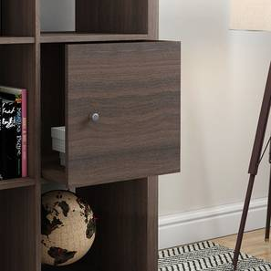 Boeberg Cabinet Inserts (Dark Walnut Finish) by Urban Ladder - Design 1 Full View - 239509