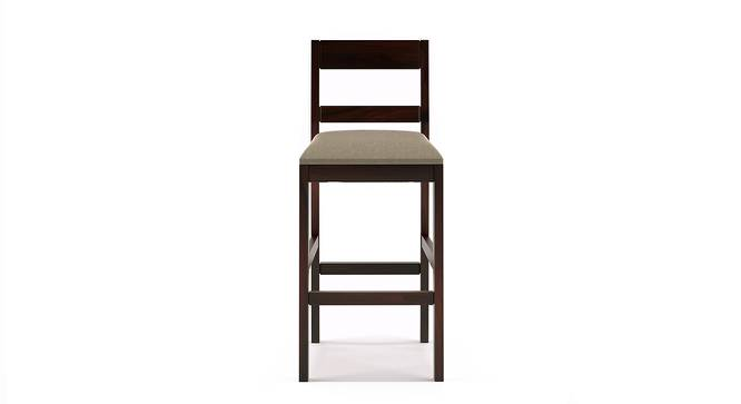Stinson Bar Stool (Mahogany Finish, Counter Height) by Urban Ladder