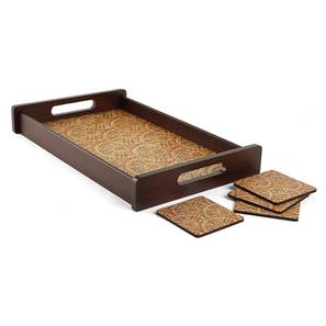 Mumtaz Tray with Coaster (Small Size) by Urban Ladder