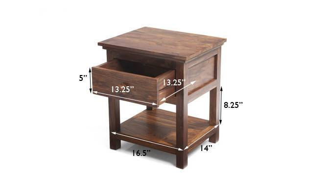 Snooze bedside table teak finish img 4615 copy ed