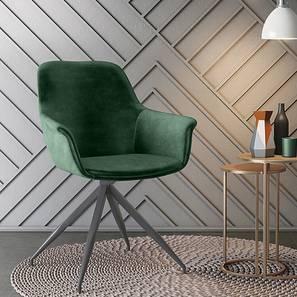 Hudson Accent  Chair (Emerald Green Velvet) by Urban Ladder