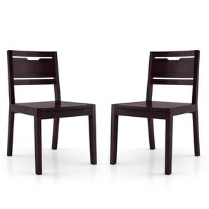 Aries Dining Chair - Set of 2 (Mahogany Finish) by Urban Ladder - Design 1 - 240745