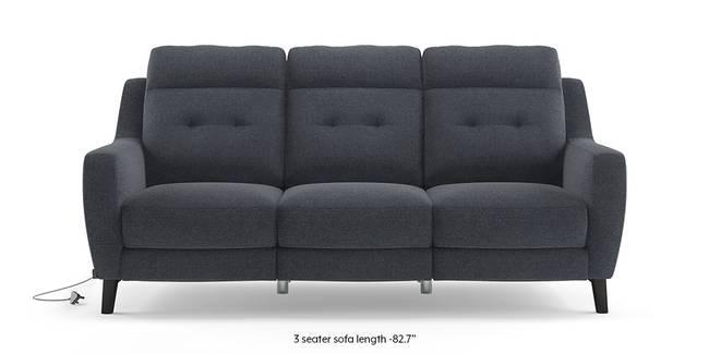 Trent Motorized Recliner Sofa (Blue) (Blue, 2-seater Custom Set - Sofas, None Standard Set - Sofas, Fabric Sofa Material, Regular Sofa Size, Regular Sofa Type)