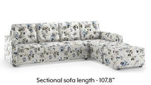 Apollo Sectional Tufted Sofa (Adrian Velvet)