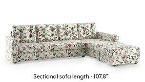 Apollo Sectional Tufted Sofa (Clara Velvet)