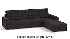 Apollo Sectional Tufted Sofa (Cosmic)