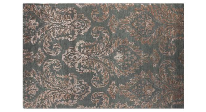"Savoy Hand Tufted Carpet (Grey, 152 x 236 cm  (60 x 93"") Carpet Size) by Urban Ladder - - 25163"