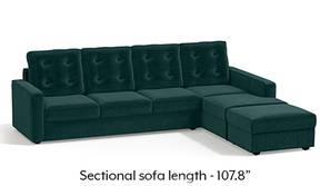 Apollo Sectional Tufted Sofa (Malibu)