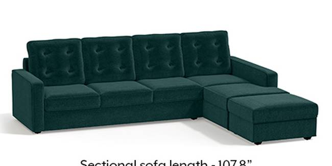 Apollo Sofa Set (Fabric Sofa Material, Regular Sofa Size, Malibu, Soft Cushion Type, Sectional Sofa Type, Sectional Master Sofa Component, Tufted Back Type, Regular Back Height)