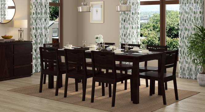 Arabia XXL - Aries 8 Seater Dining Table Set (Mahogany Finish) by Urban Ladder