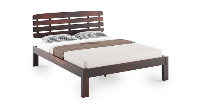 Sampson Bed (Mahogany Finish, King Bed Size) by Urban Ladder