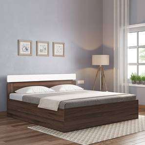 Aruba Storage Bed (Two-Tone Finish, Queen Bed Size) by Urban Ladder