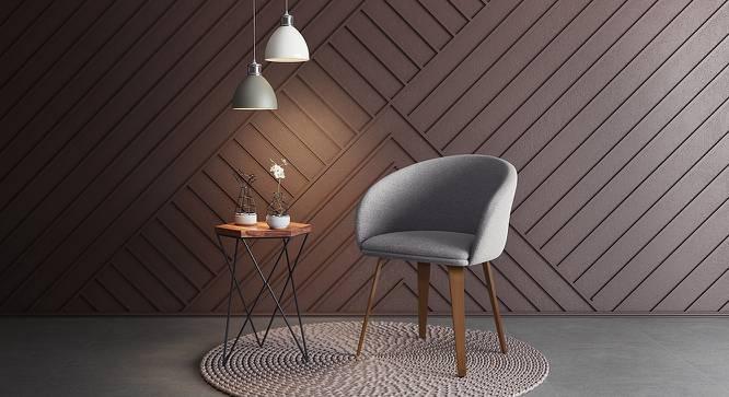 Meryl Lounge Chair (Light Grey) by Urban Ladder