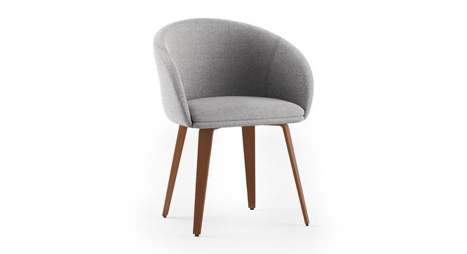Meryl Lounge Chair (Light Grey) by Urban Ladder