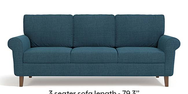 Oxford Sofa (Fabric Sofa Material, Regular Sofa Size, Soft Cushion Type, Regular Sofa Type, Master Sofa Component, Colonial Blue)