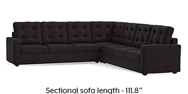 Apollo Sofa Set (Cosmic, Fabric Sofa Material, Regular Sofa Size, Soft Cushion Type, Corner Sofa Type, Corner Master Sofa Component, Tufted Back Type, Regular Back Height)