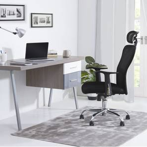 Venturi Study Chair-3 Axis Adjustable (Carbon Black) by Urban Ladder