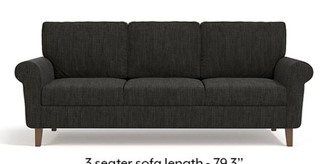 Oxford Sofa (Fabric Sofa Material, Regular Sofa Size, Soft Cushion Type, Regular Sofa Type, Master Sofa Component, Graphite Grey)