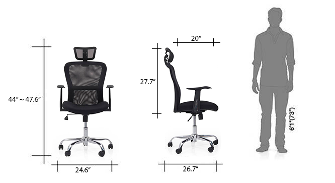 Venturi study chair carbon new dim