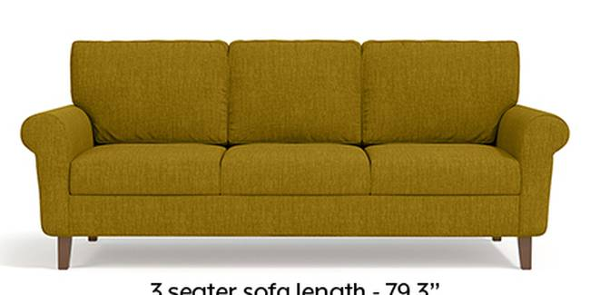 Oxford Sofa (Olive Green, Fabric Sofa Material, Regular Sofa Size, Soft Cushion Type, Regular Sofa Type, Master Sofa Component)